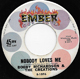 BOBBY RICHARDSON & THE CREATIONS, NOBODY LOVES ME